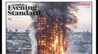 Evening Standard front page