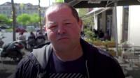 man in Marseille