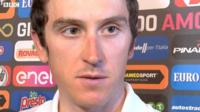 Geraint Thomas on the Giro d'Italia