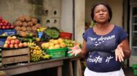 Nigerian woman complains about the state of the economy