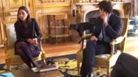 Nemo, Macron's dog