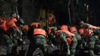 Rescue operation in Sichuan