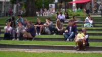 A park in Aachen, Germany.