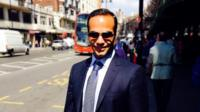 George Papadopoulos is seen in this undated photo.