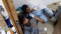 Survivors of Kunduz clinic bombing