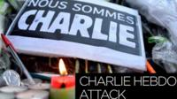 Charlie Hebdo memorial