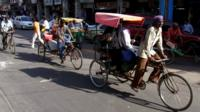 India street scene