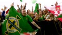 Northern Ireland fans