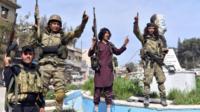 نیروهای ارتش آزاد سوریه
