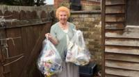 Janet Cox has been keeping her street in Peterborough clean of litter for seven years.