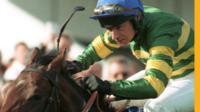 Declan Murphy in the saddle