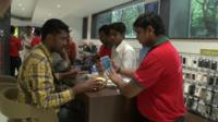 Mobile phone shop in India