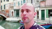 Video artist James Richard