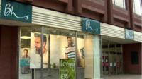 The high street retailer has 164 shops across the UK, including this one in Belfast