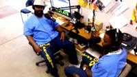 """Prisoners are the producers of """"Ear Hustle"""", a new podcast about life on the inside of San Quentin State Prison."""