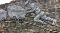 Mural in Ebbw Vale