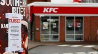 Shut KFC outlet