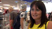 British tourist at Bristol airport after flying back early from holiday in Tunisia