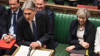 Philip Hammond in House of Commons