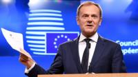 Donald Tusk and the UK's Article 50 letter