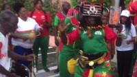 Burkina Faso mascot