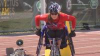 UK athlete Kirsty Wallace competing in the 2016 Invictus Games