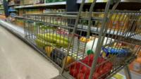 The supermarket will sell some products for 10p to try and reduce waste.