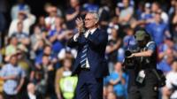 Claudio Ranieri enjoys 'warm welcome'