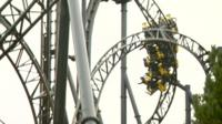 Smiler ride in Alton Towers