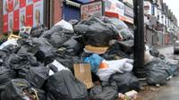 Pile of rubbish on Stratford Road, Sparkhill