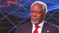 Kofi Annan, former United Nations Secretary-General