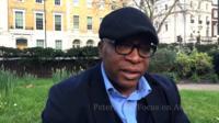 BBC journalist Peter Okwoche
