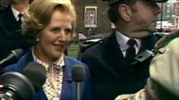 Margaret Thatcher wins the 1979 election