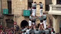 Catalonia's human towers