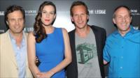 Producer Michael Mailer, Liv Tyler, Patrick Wilson, and director Matthew Chapman attend a screening of The Ledge