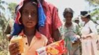 A Sril Lankan refugee