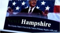 Political campaign leaflet