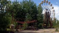 Abandoned fairground in Pripyat
