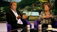 Peter Hitchens and Mary Ann Sieghart