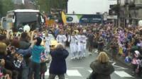 Torch relay in Rayleigh