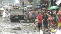 Serve flooding in Manila