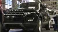 Rover car at Halewood
