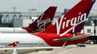 File photo of Virgin Atlantic aircraft