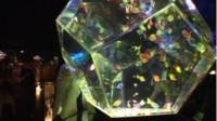 Designer fish tanks in Tokyo