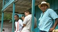 Villagers in the Colombian region of Cauca
