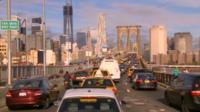 Heavy traffic in New York