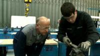 Apprentice in training