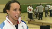 Gymnast Beth Tweddle