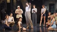 The cast of Kiss Me Kate