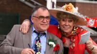 Bill Tarmey and actress Liz Dawn